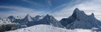 Summit of Pisco, Cordillera blanca, Peru